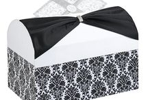 Black and White Damask Wedding Theme Ideas / Black and white damask is a popular wedding theme. A Wedding Pin Board of Ideas for Invitations,Wedding and Bridal Accessories,Decorations and favor products using the damask design / by Wedding Bedazzle