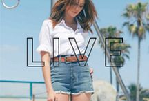 Live / by James Jeans