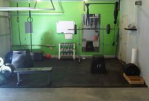 Home Gym-Crossfit / by Candi S.