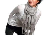 tee shirt scarf / by Dian Heavrin