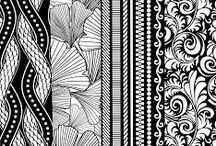 Zentangle Patterns / by Florence Savarese