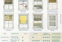 Window treatments / by Marian Dicus