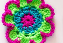 Crochet appliques and flowers / by Kathy Marco