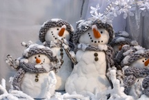 Snow Theme Decorations / by Diane Fout