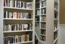 Homes for Books - Because Bookshelves deserve a board of their own / by Kate McCullough