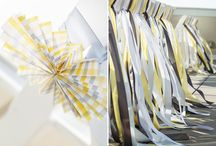 Gray/yellow baby shower ideas / by Madeline Morcelo