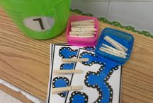 Kinder Math Centers / by Casey Phillips