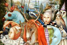 Surreal paintings / Surreal e Fantasy Artist / by Alessandro Ribezzi