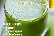 Juicing/healthy food / by Kimberly Patino