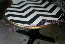 Table makeovers / by Laurie Lochner