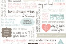 Quotes and sayings / by Sherrie Everett