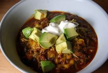 Stews and Soups / casseroles, chili, hot bowls of comforting goodness... / by The Tasty Word (Tess)