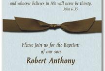 MASON'S BAPTISM + 2nd BIRTHDAY / by E'marie Portillo