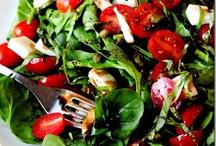 salads.. / i  l.o.v.e salad!!!! / by Rita Henry