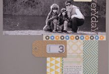 LAYOUT: CROSS / by Get It Scrapped (Debbie Hodge)