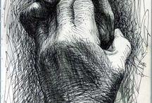 Line Drawings / by Janine Nagrosst