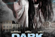 """Dark Spirits (Movie) / (Short Synopsis) """"In this heart-stopping supernatural-thriller, a woman seeks an explanation of her sister's mysterious, violent death … only to find that the evil that killed her sibling is now pursing her!"""" (Starring) Milka """"Milena"""" Minichova (Doblba!), Dan Brown (Hart's War), and Jan Budar (Hilter: The Rise of Evil). / by Green Apple Entertainment"""