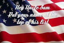 Patriotism / God Bless the USA1 / by Loretta Lindsey