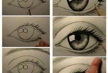 the sketch pad / drawing / by Becky Crutcher {Posh Pink Giraffe}