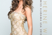 Previous Miss Alabama USA Titleholders / (2013) Mary Margaret McCord (2012) Katherine Webb / by RPM Productions, Inc.