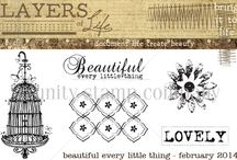 2014 Layers of Life {LOL} at Unity / Layers of Life {LOL} - You get an exclusive stamp delivered to your door EVERY MONTH at a special price. / by Unity Stamp Company, Angela Magnuson