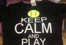 Keep Calm Play Softball / by Jennifer Dean
