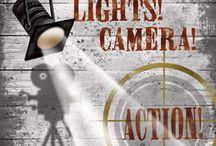 Lights, Camera & ACTION !!! / by Brenda Tis