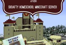 Home School - Minecraft / Home School Minecraft / by Danyel Beach