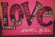 Love / by GeorgeandVeronica Mercado
