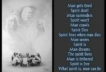 NATIVE AMERICAN WISDOM AND MORE / by Mary Dumke