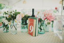 Les fleurs : centres de table / by Véronique So Lovely Moments