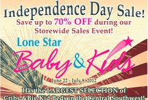 Independence Sale / by Lone Star Baby & Kids