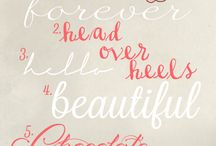 Fonts / by Stephanie Blankenship