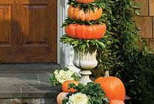 Fall Decorating / by Sandy Downhower