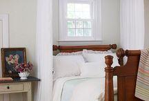 neutral bedrooms / by Genie Norris of ColorGenie