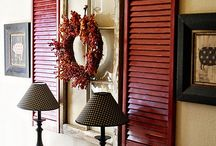 Uses For Old Window Shutters / by Gloria Steele