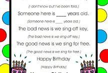Birthdays / by Haley Hodges