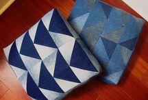 reusar textil / cómo convertir residuos textiles en nuevos objetos / by REMBRE VERDE