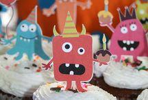 Birthday Party - Monster / Birthday Party - Monster / by ute