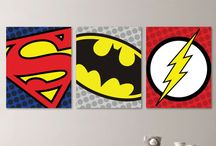 Superhero Toddler Room / by Chelsea Johnson {Life With My Littles}