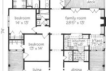 house plans / by genie johnston