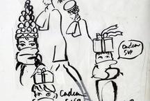 Sketches / by Carol Gillott
