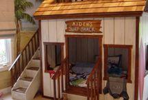Kids Bedroom Ideas / by Parga's Junkyard