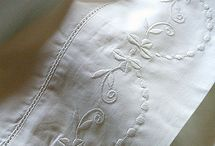 I love pretty linens / by Sharon Childs