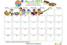 March National Nutrition Month / by Nourish Interactive