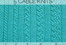 knitting & crochet / by Jodi Baird Jocole Patterns