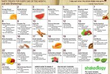 Shakeology Recipes / by Cynthia Sidwell