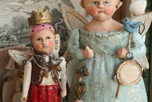 Old Dolls  / by Brenda Ison