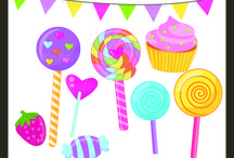 Candy Crush, Candyland and other sweet party inspirations / by Mygrafico Digitals