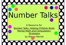Number talks / by Tammy Greer Guarno